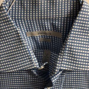 Perry Ellis Ultra Slim Fit Button Down